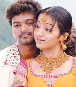Trisha Krishnan with Vijay
