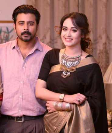 Ahona Rahman with Afran Nisho