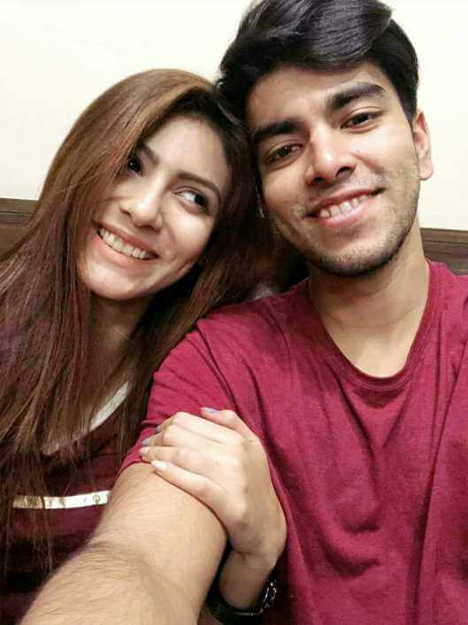 Jessia Islam with Salman Muqtadir