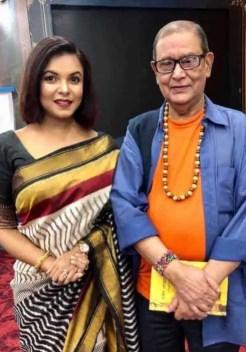 Meher Afroz Shaon with Helal Hafiz