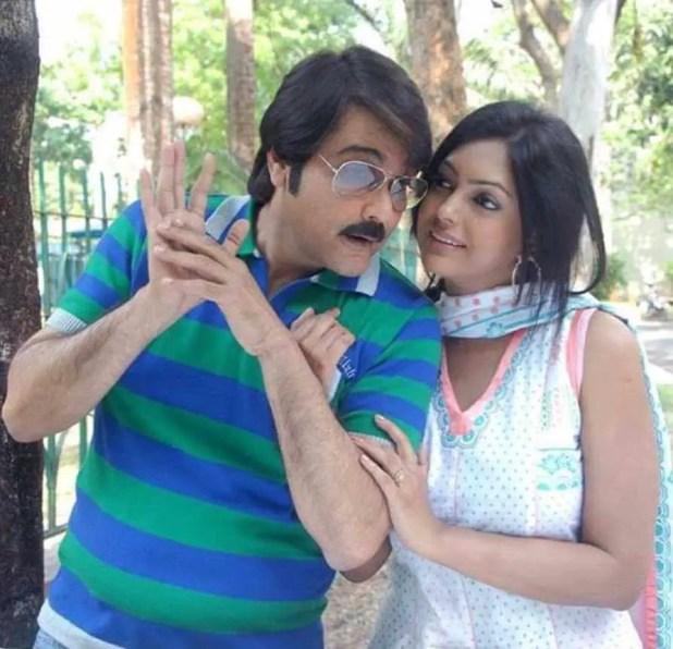 Nipun Akter With Prosenjit Chatterjee