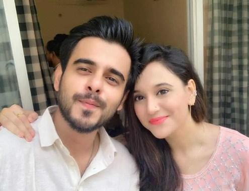 Sabila Nur with Siam Ahmed