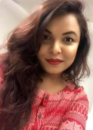 Meher Afroz Shaon Selfie
