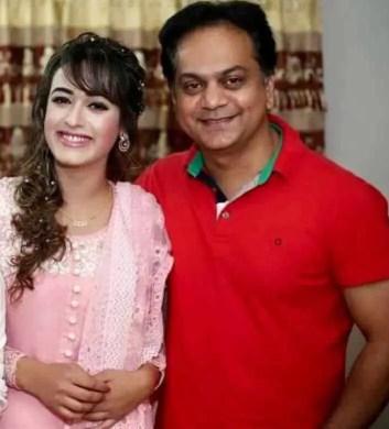 Ahona Rahman with Mir Sabbir