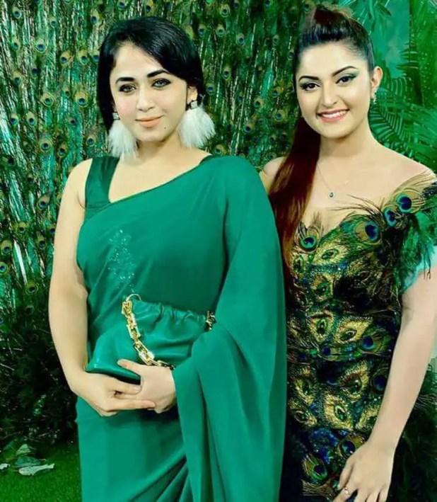 Faria Shahrin with Pori Moni
