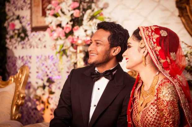 Shakib Al Hasan and Umme Ahmed Shishir marriage photo 1