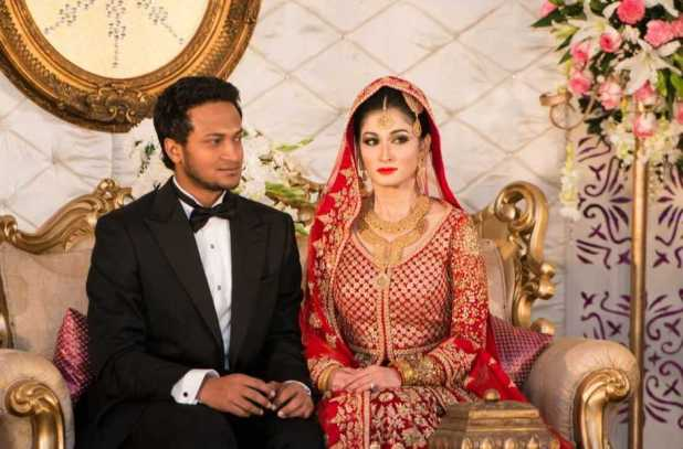 Shakib Al Hasan and Umme Ahmed Shishir marriage photo 2