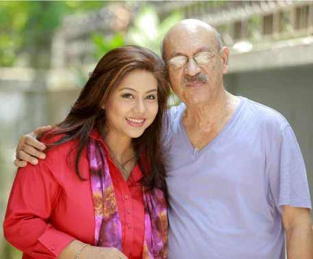 Shomi Kaiser with Abul Hayat