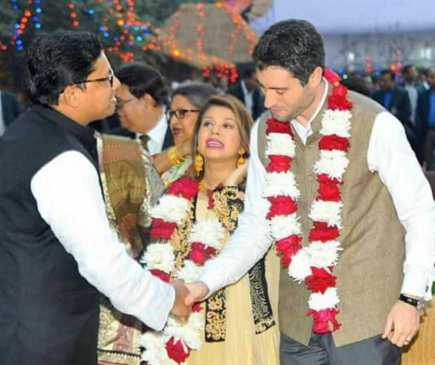 Tulip Siddiq Wedding Photo