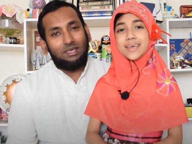 Faatiha Ayat with father