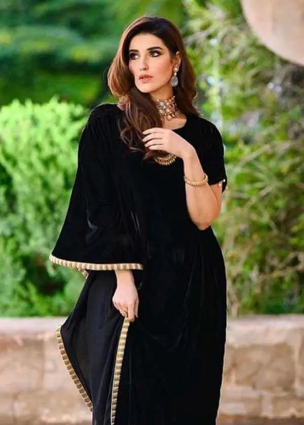 Hareem Farooq Black dress Image