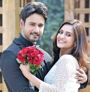 Priyanka Sarkar with Yash Dasgupta