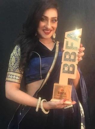Rituparna Sengupta Award Photo