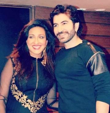 Rituparna Sengupta with Jeet
