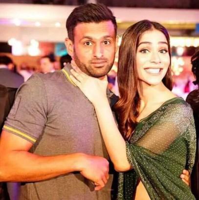 Humaima Malick With Shoaib Malik