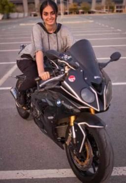 Lana Rose Bike Riding Picture