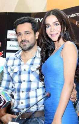 Humaima Malick with Emraan Hashmi