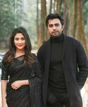Ziaul Faruq Apurba with Mehazabien Chowdhury
