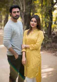 Ziaul Faruq Apurba with Tanjin Tisha