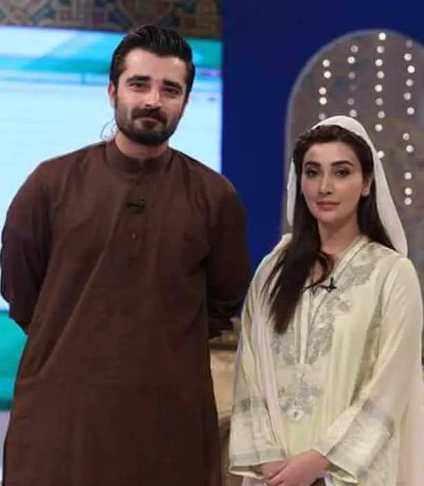 Ayesha Khan With Hamza Ali Abbasi