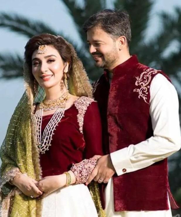 Ayesha Khan with Uqbah Hadeed Malik