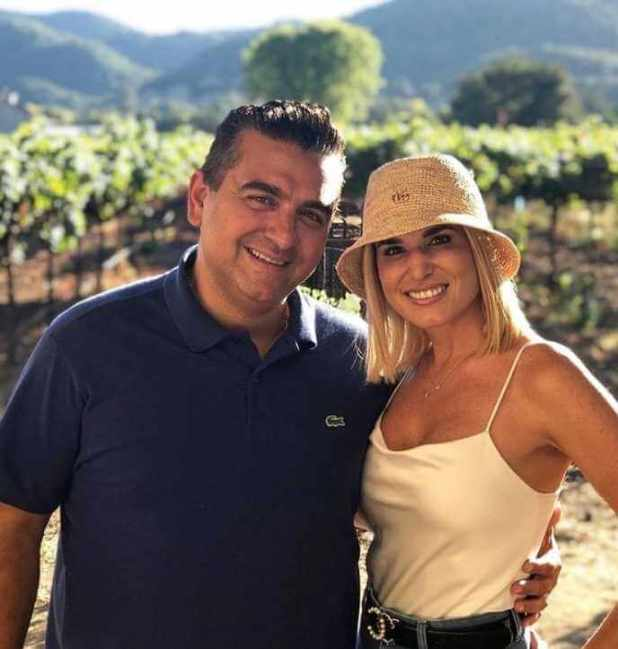 Buddy Valastro with his Wife