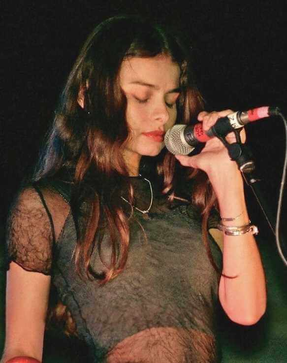 Hope Sandoval with Black dress Image