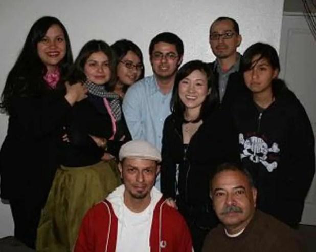 Hope Sandoval Family Photo