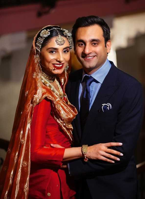 Pernia Qureshi with her 2nd Husband