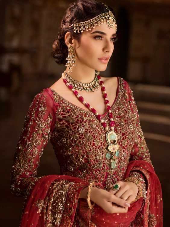 Sadia Khan Red Dress Image