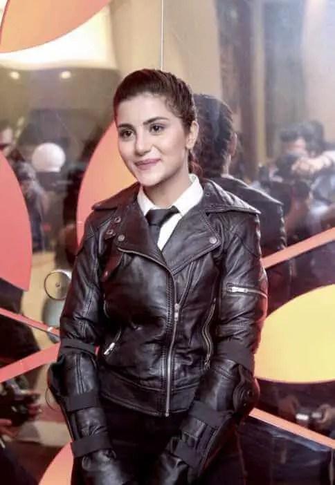 Sohai Ali Abro with Black dress Photo