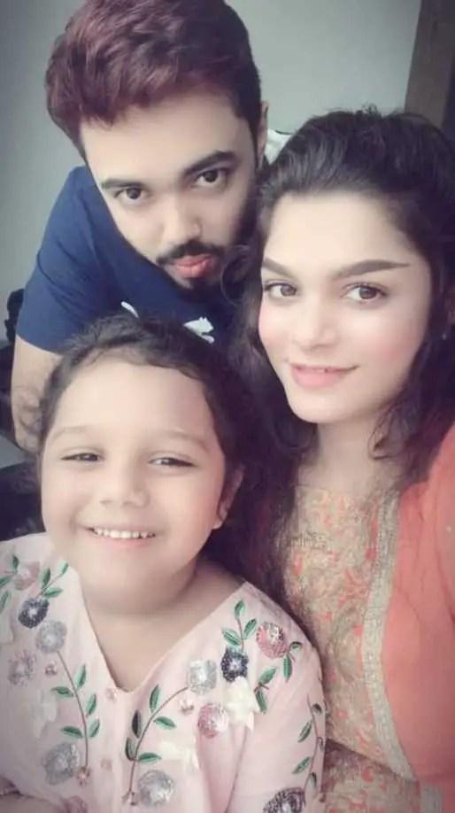 Tamima Sultana Tammi's daughter and Ex husband Rakib