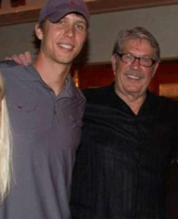Nick Foles with his father