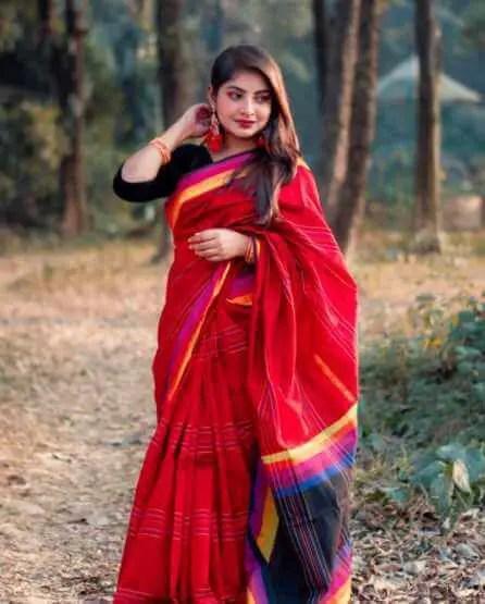Nusrat Jahan Ontora Saree pic