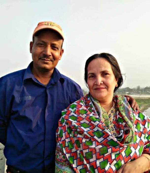 Nusrat Jahan Ontora's parents
