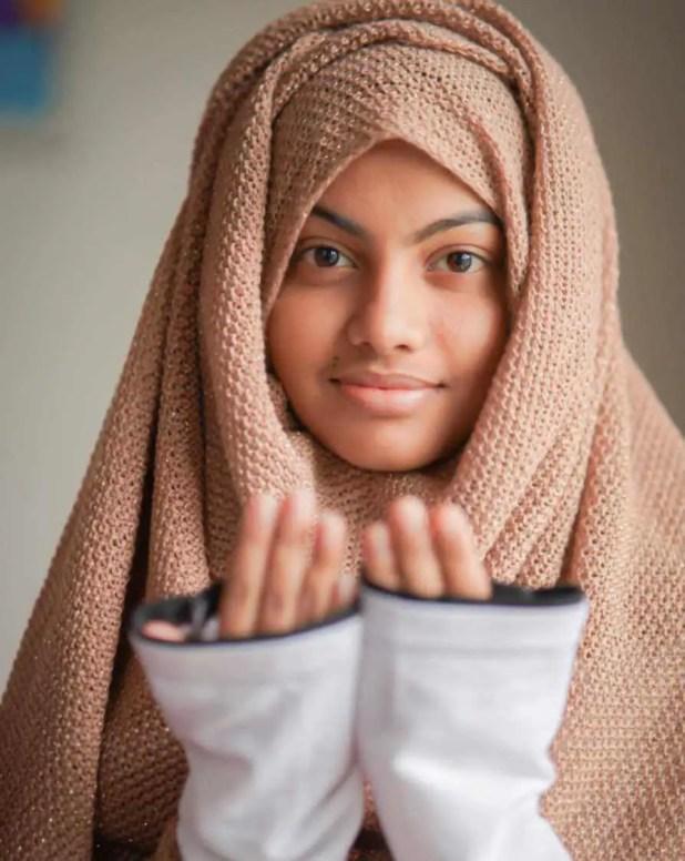 Beauty Khan Hijab Photo