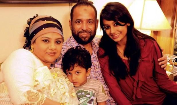 Helena Jahangir family pic