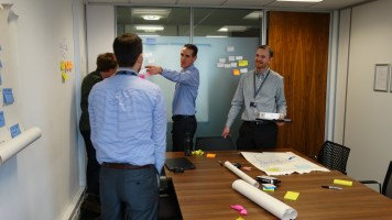 Glimpse into our user journey mapping workshop