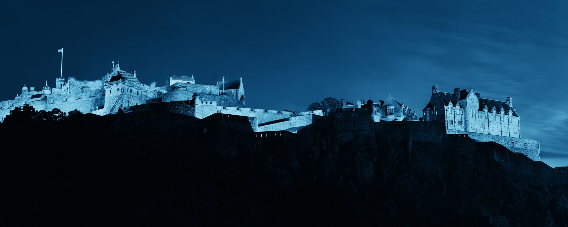 edited image of Edinburgh Castle