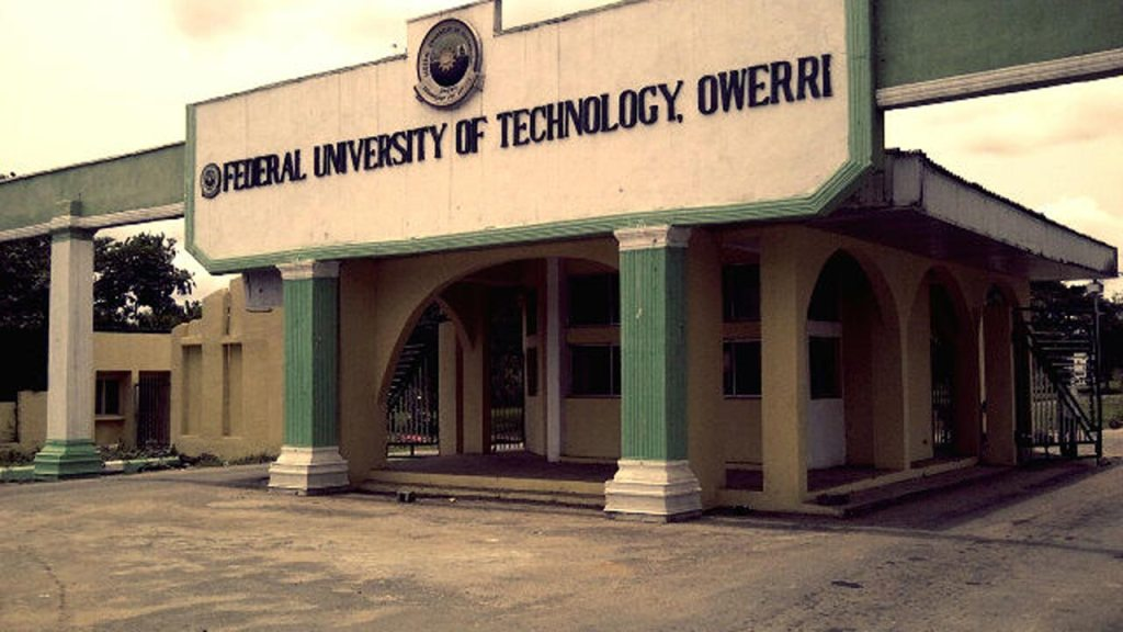 federal university of technology owerri futo 1 1024x576 - Federal University of Technology Owerri (FUTO) Admission List for 2020/2021 Academic Session