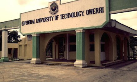 Federal University of Technology Owerri (FUTO) Supplementary Admission List for 2020/2021 Session