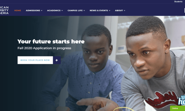American University of Nigeria (AUN) Postgraduate Admission Form for 2020/2021: Registration and Screening Date Announced