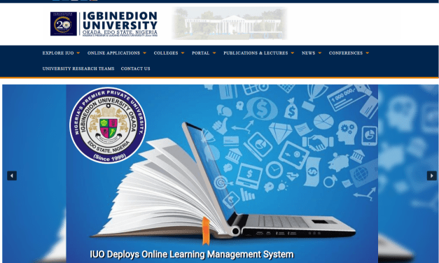 Igbinedion University (IUO) Post UTME/DE 2020/2021: Cut Off, Eligibility, Screening Date and Registration Details