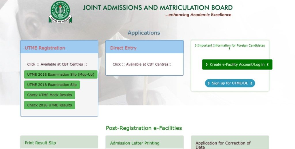 JAMB Change Of Course - JAMB Change of Institution / Data Correction Guideline 2021