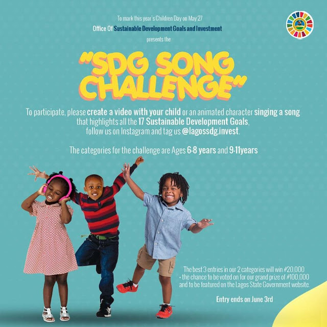 Lagos State SDG Song Challenge - Lagos State SDG Song Challenge 2020 - How to Apply