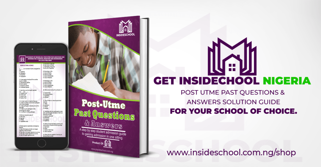 facebook ads for insdeschool - Universities UTME Cut-Off Marks 2020/2021