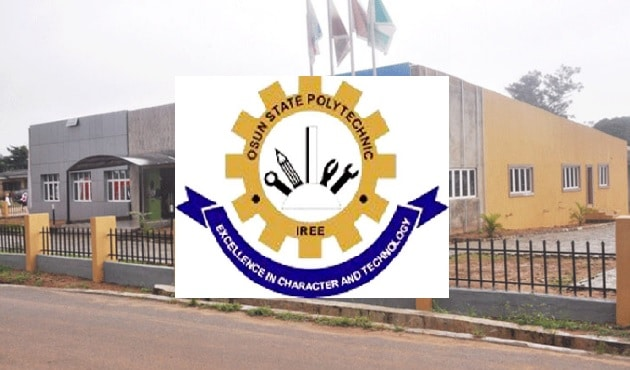 Osun State Polytechnic at Iree  - Osun State Polytechnic HND Admission Form 2020/2021-How to Apply