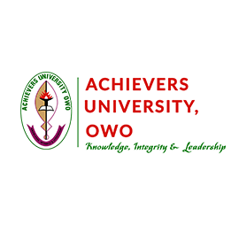 Achievers University School Fees for 2020/2021 Academic Session