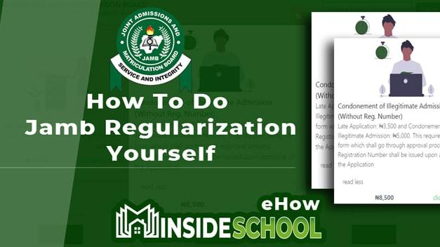 JAMB Regularization For Direct Entry (DE): How to Do it Yourself