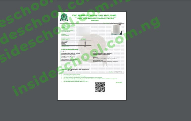 How to Print JAMB Original Results - How to Print JAMB Original Result Slip Online [VIDEO]
